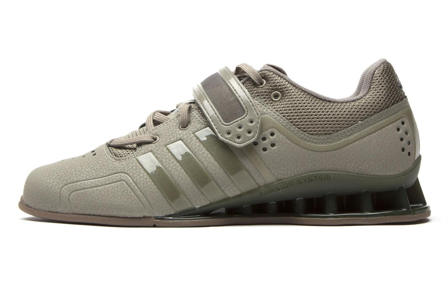 online store 1dbfb 91f83 Adipower Weightlifting Shoe - Trace Cargo + Gum 5  Rogue Fitness