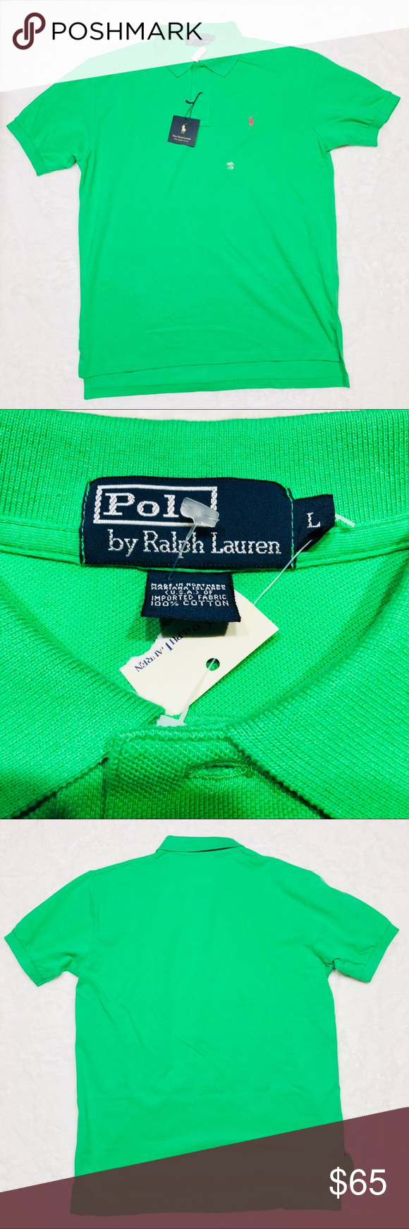 Ralph Lauren Green Polo Shirt Nwt In 2018 My Posh Picks Green