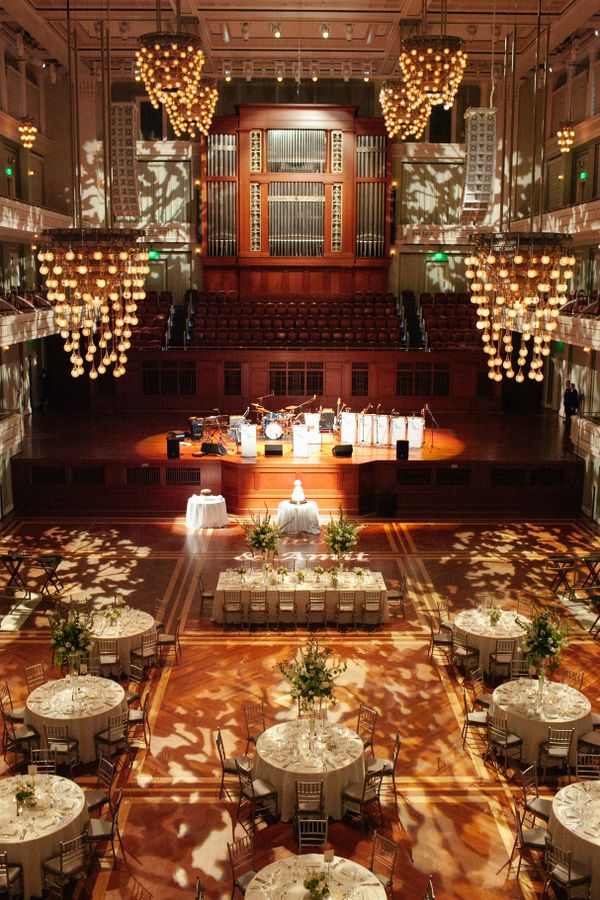 White And Sage Wedding At The Nashville Symphony Best Of The