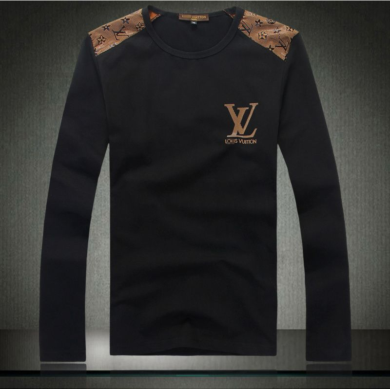 cheap louis vuitton t shirts long sleeved in 18177 for men. Black Bedroom Furniture Sets. Home Design Ideas