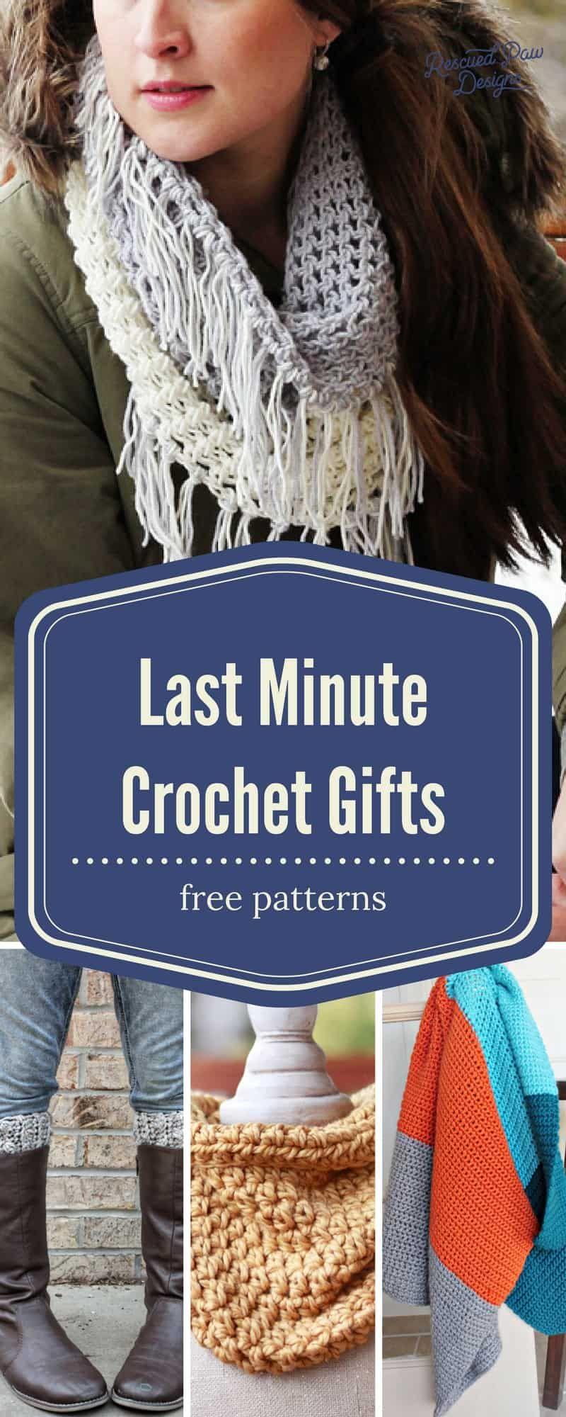 Make Crochet Christmas Gifts In A Weekend Gift Ideas Crochet