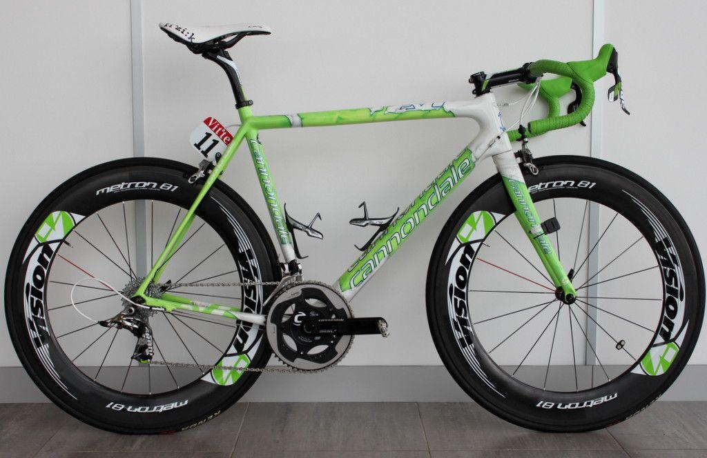 Peter Sagans Hulk Themed Cannondale Supersix Hi Mod Cycling