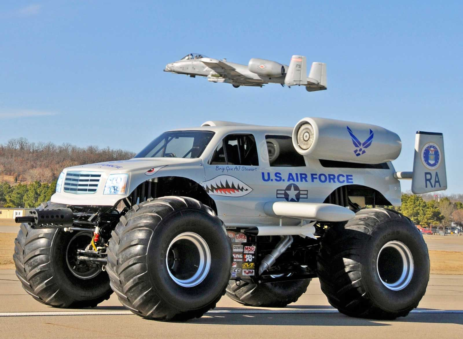 The Monster Truck Used In This Film Was Designed And Built For