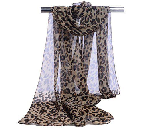 Lubier élégant doux en mousseline de soie mince Écharpe Wrap Lady ... 6060285ad2c
