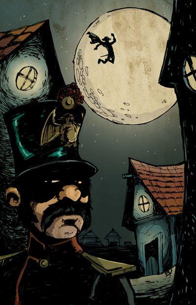 """""""El Zorro"""" print for sale."""