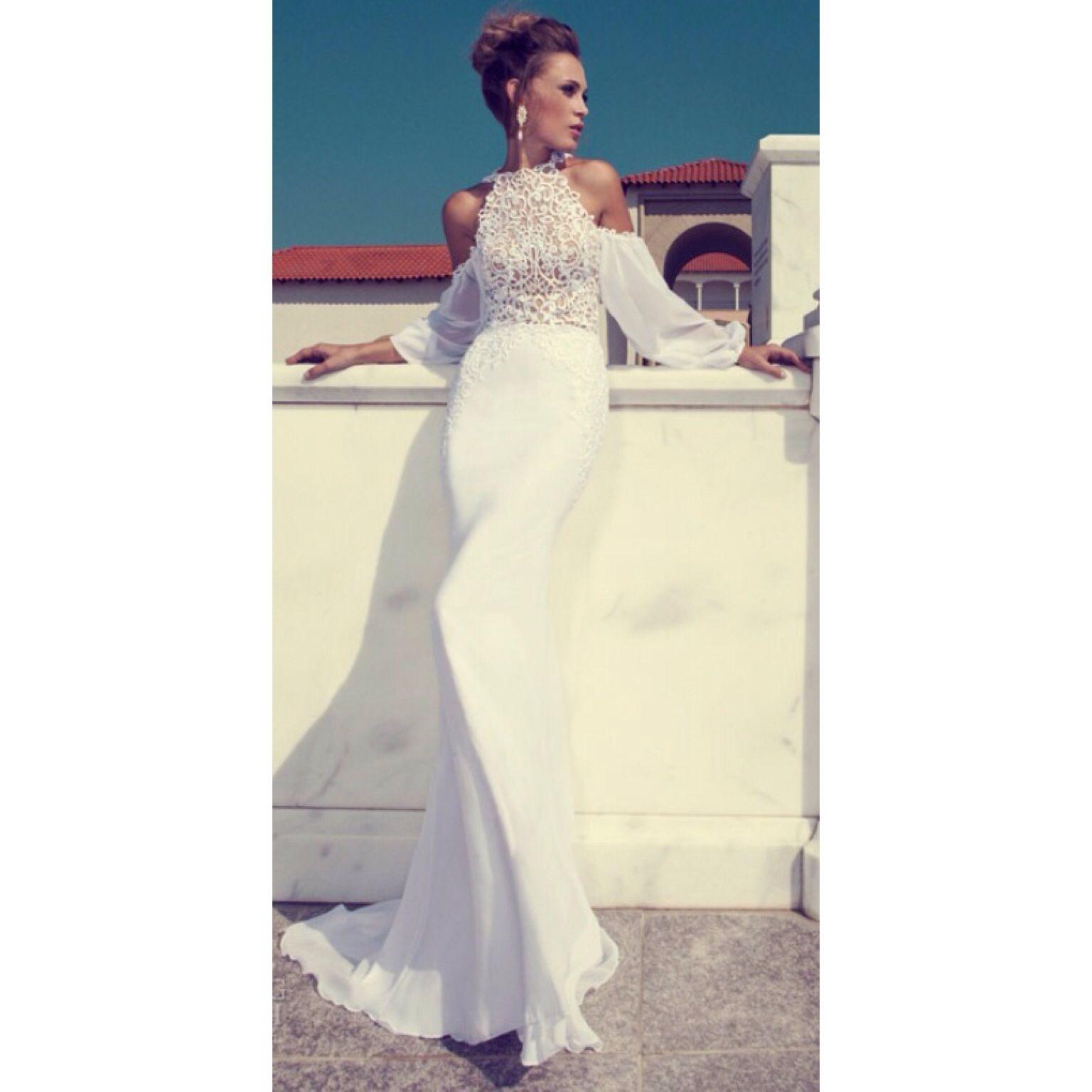 Wedding dress for evening  Beautiful dress  wedding  Pinterest  Wedding dress Wedding and
