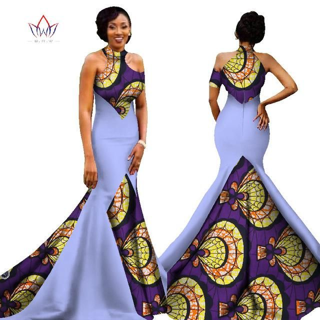 ce87e17e3f1 Mermaid African Dresses New Arrival Sleeveless Floor Length Women Formal  Occasion Dress Africa Evening Gowns for Women-D1141