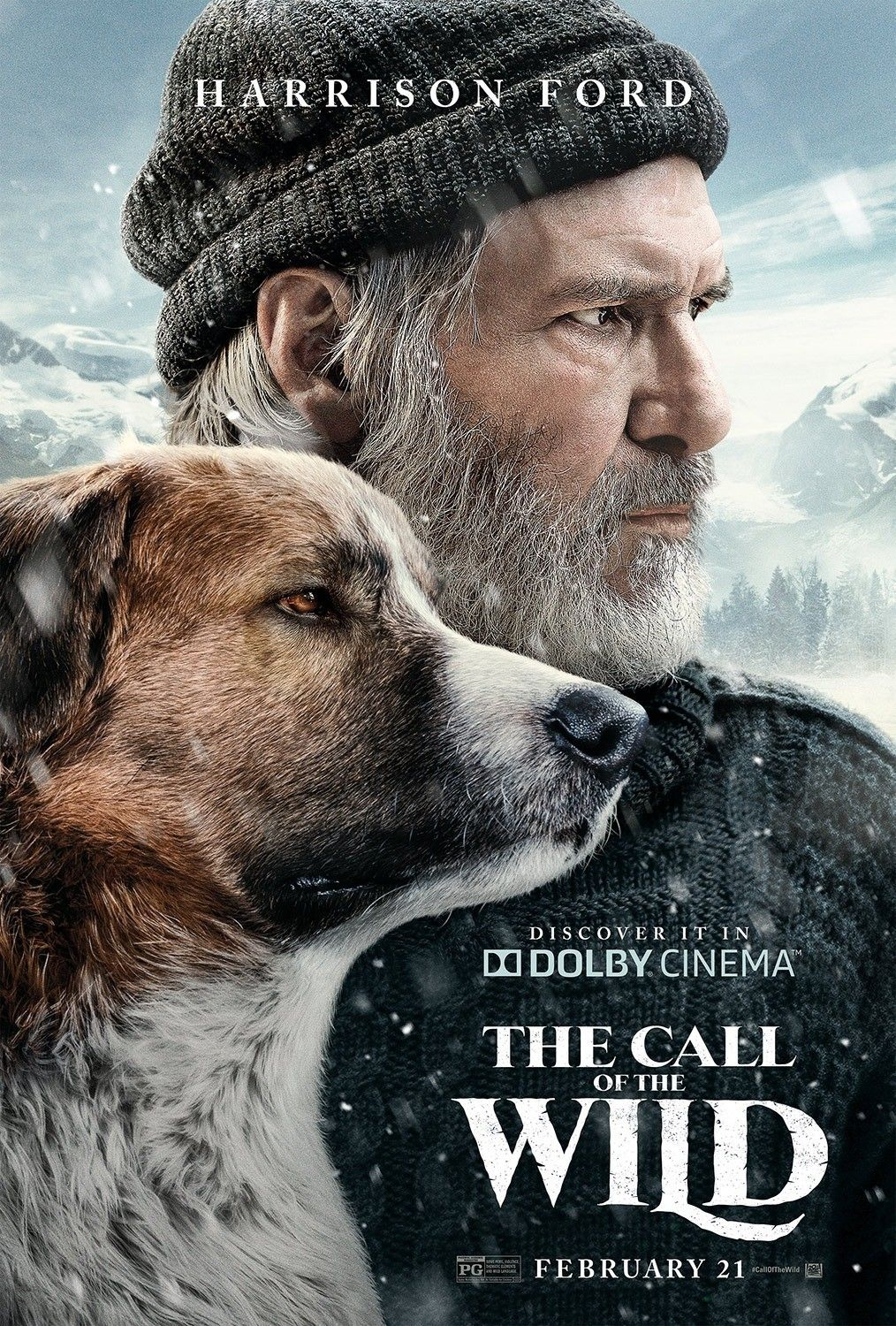 New Dolby Cinema Poster For The Call Of The Wild