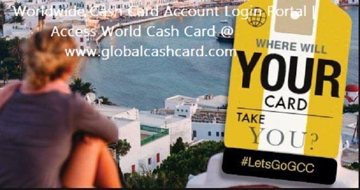 Worldwide cash card account login portal cash card