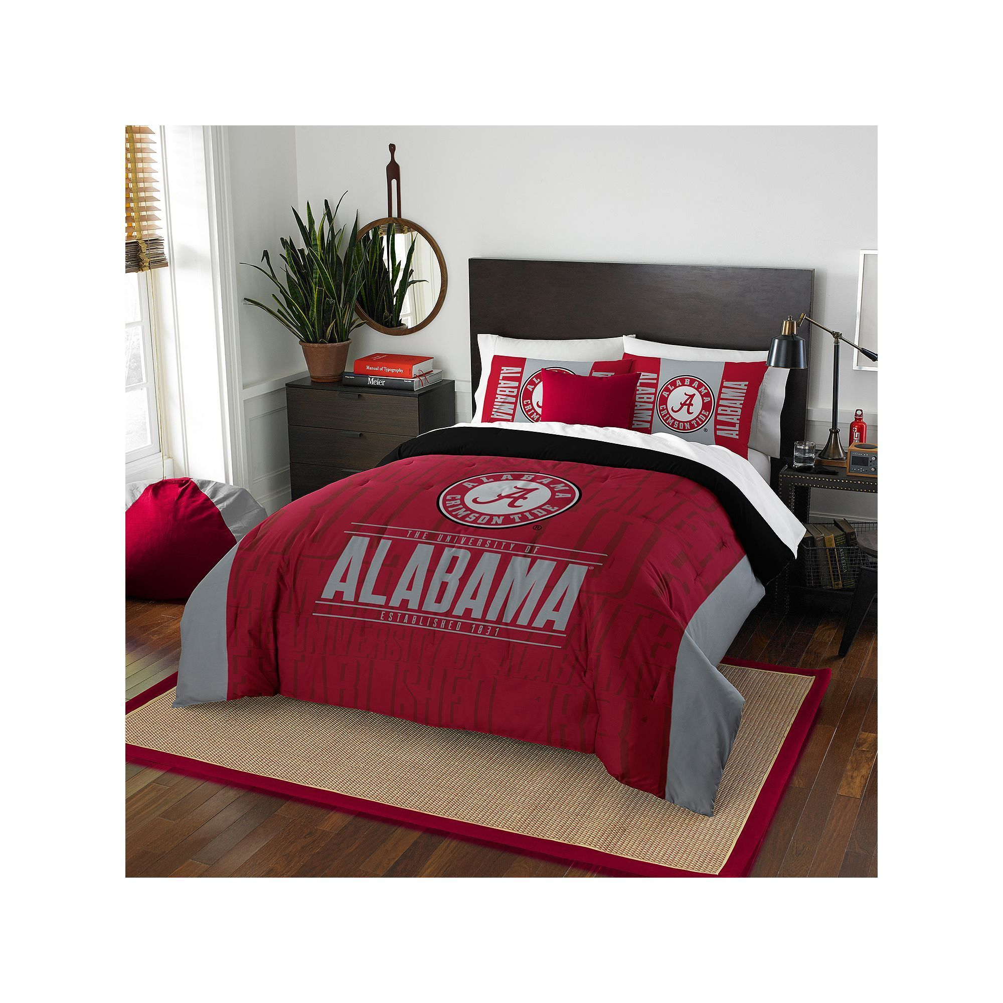 Pin On Alabama Crimson Tide Bedding