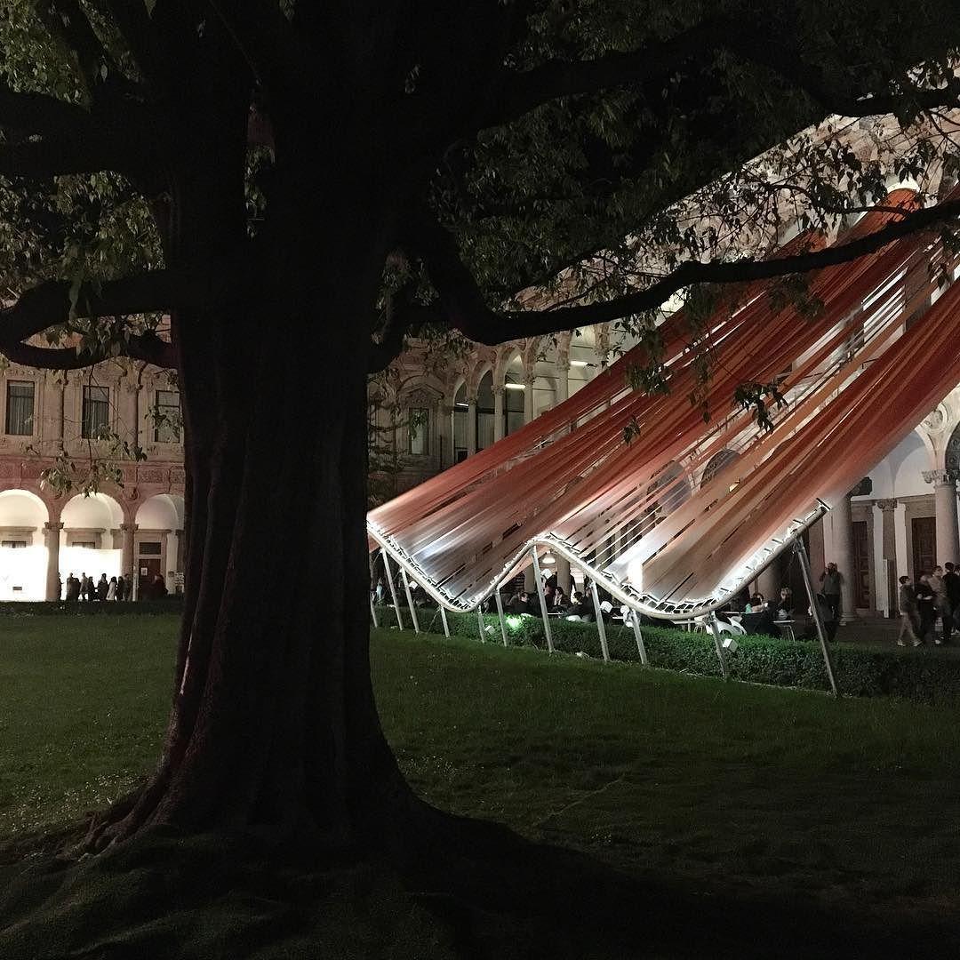 #Milano #MilanoDesignWeek #fuorisalone #fuorisalone2016 #isaloni #universitàdeglistudidimilano #MadArchitects #installazione #design #architecture #architecturelovers #architecturephotography #ig_milanoi #igersmilano #night #nightphotography #tree #tree_captures #ig_captures by mariaantico