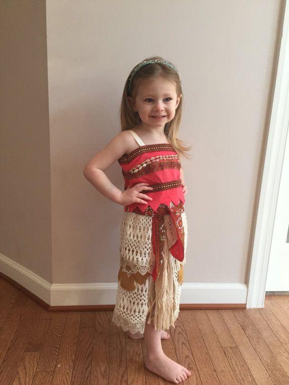 Fantabulous Disney Princess Moana Costumes For Kids