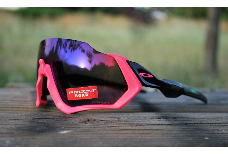 aa4d9ec585 Flight Jacket Neon Pink Prizm Road | Oakley Sunglasses en 2019 ...