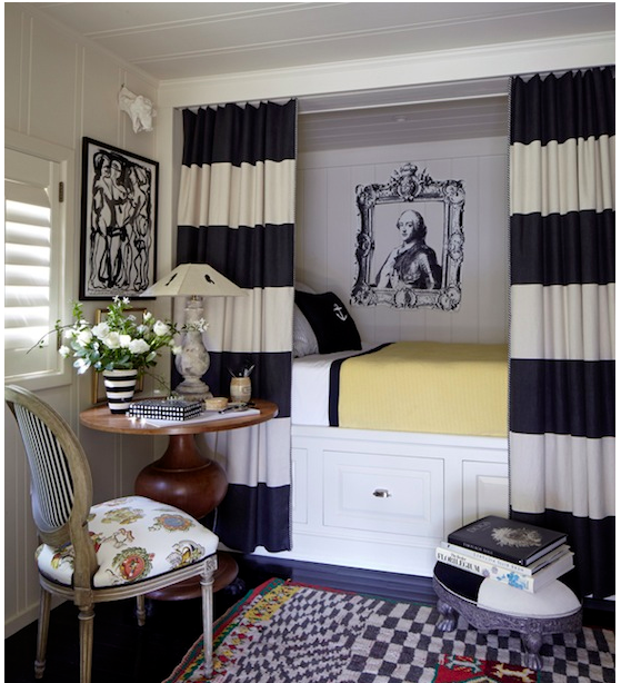 Cotinas infantiles par la cama cortinas pinterest for Cortinas departamentos pequenos