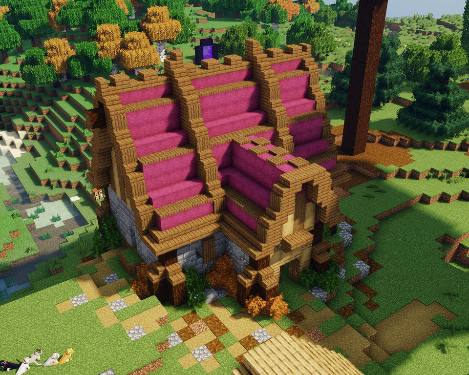 What Does Reddit Think Of My 1 16 Inspired House Minecraft Minecraft Designs Minecraft Creations Minecraft Medieval