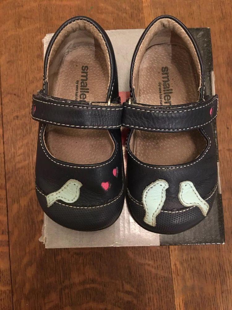 870850a211423a See Kai Run Kathryn II girls shoes Size US 6 EU 22 bird Appliqué Navy Mary  Jane