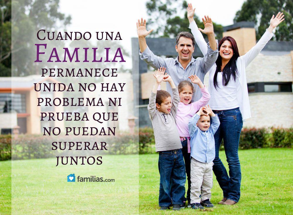 Familias Frase Familia Unida Imagenes De Familia Unida Frases Bonitas