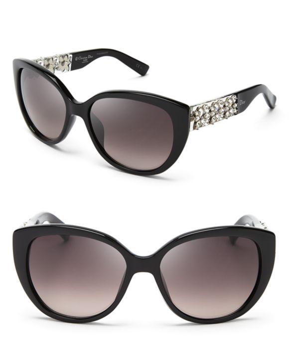 Dior Mystere Cat Eye Sunglasses