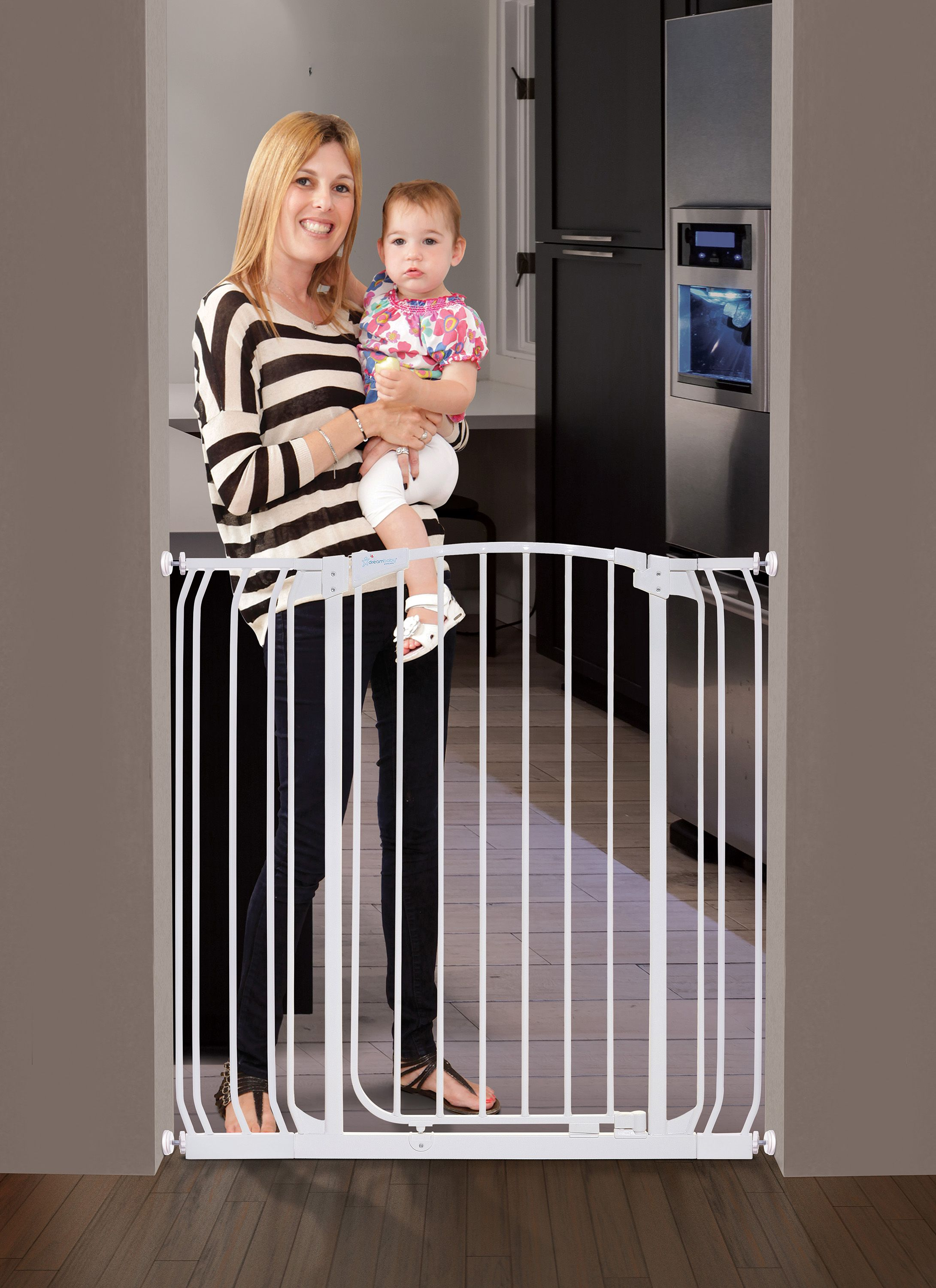 """Dreambaby Chelsea Extra Tall AutoClose Metal 28""""42.5"""