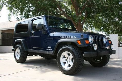 Blue Jeep Wrangler Rubicon 2 Door Find Used 2005 Jeep Wrangler Unlimited Rubicon 2005 Jeep Wrangler Jeep Wrangler Unlimited Rubicon Jeep Wrangler Unlimited