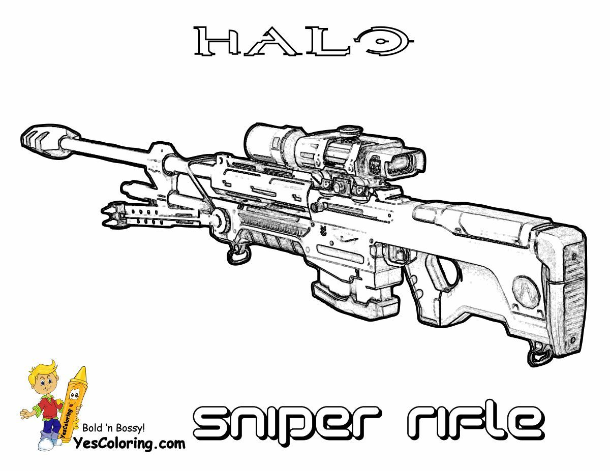 Heavy Halo Reach Coloring