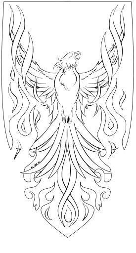 Pin By Lj Ackermann On Phoenix Firebird Coloring Pages Bird