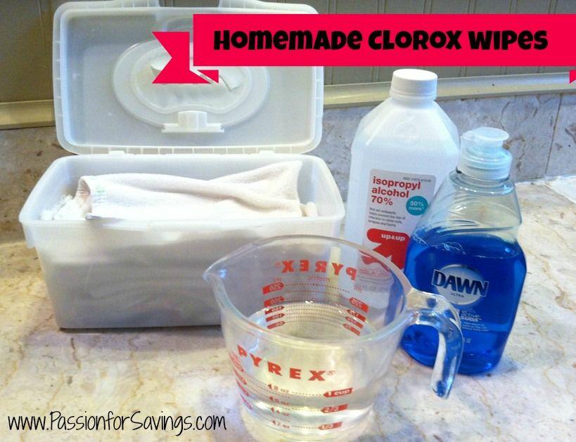 Homemade Clorox Wipes Homemade Clorox Wipes Clorox Wipes Homemade Disinfecting Wipes
