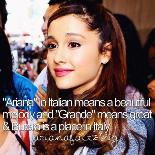 Ariana's name meaning