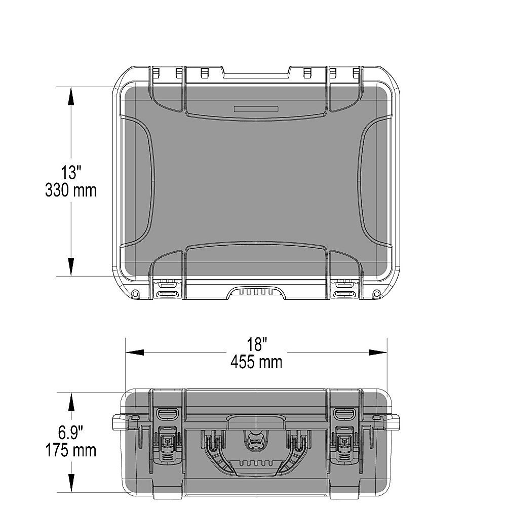 Nanuk 930 Waterproof Hard Case Empty Black Be Sure To Check Out Padded Divider Insert For 915 This Helpful Article