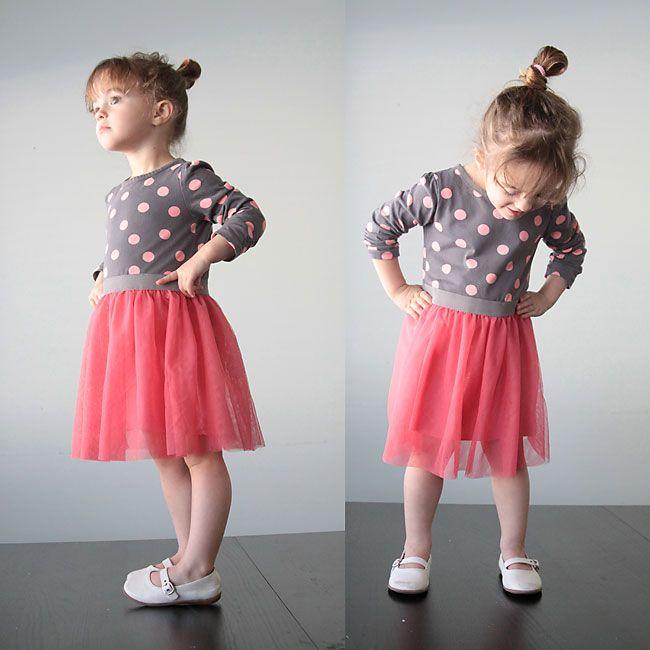 Gratis-Kleid-Muster für Mädchen von The Cottage Mama. www ...