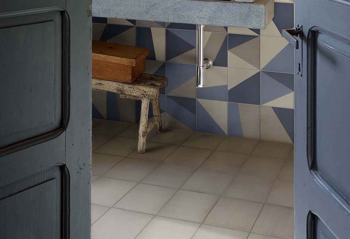 Piastrella da bagno da pavimento in ceramica motivi