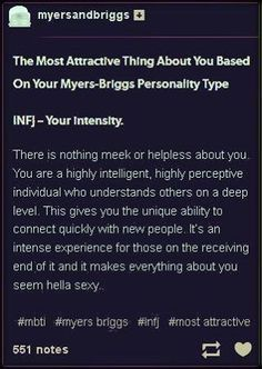 Most intimidating personality type