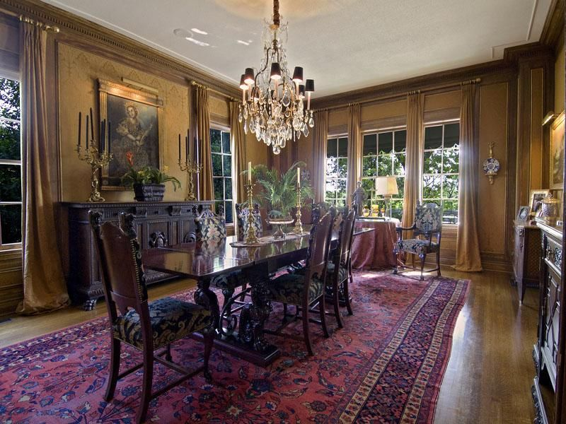 Old World Gothic And Victorian Interior Design Dining Room Victorian Victorian Interior Design Luxury Dining Room