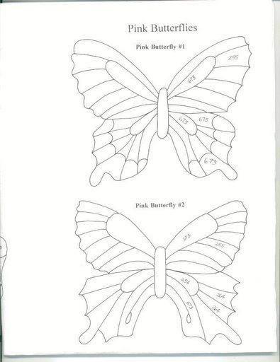 Butterfly Template  Butterflies     Butterfly