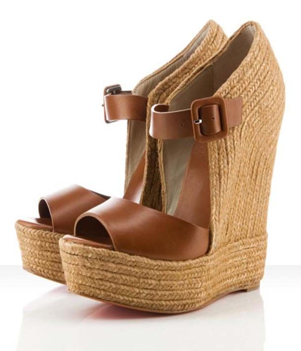 christian louboutin wedges replica