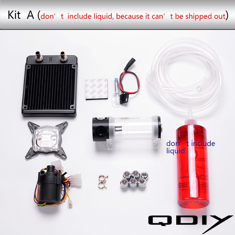 Desktop Computer Water Cooling Parts Water Cooled Accessories 120a