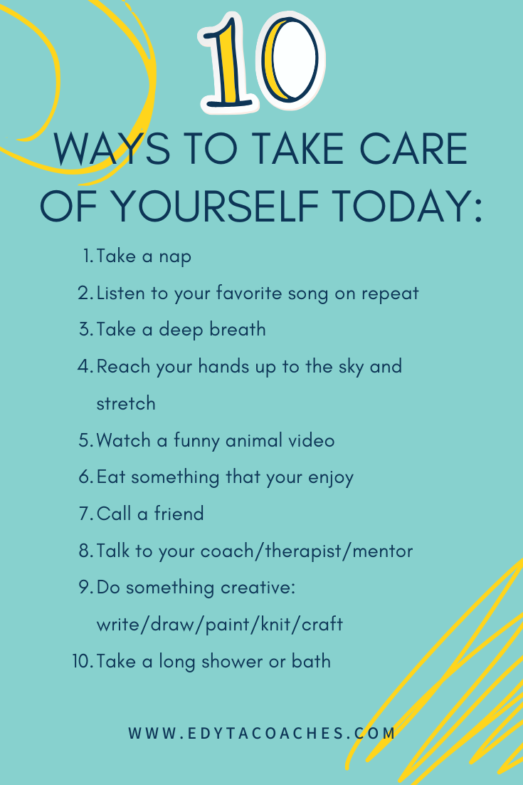 10 Ways To Take Care Of Yourself Today How Are You Feeling Confidence Tips Take Care Of Yourself