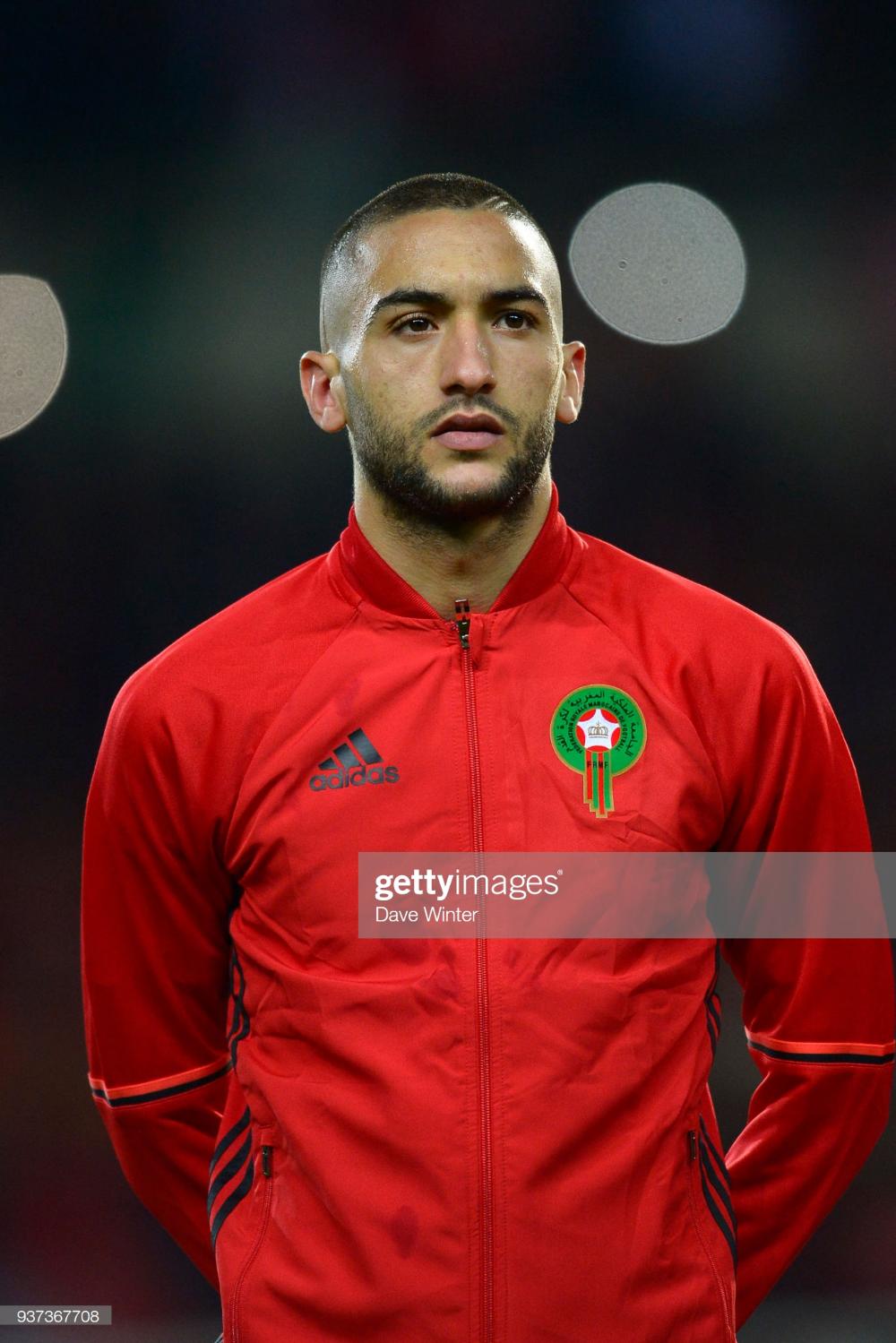 Hakim Ziyech Of Morocco During The International Friendly Match In 2020 Sports Magazine Sport Football Hakim Ziyech