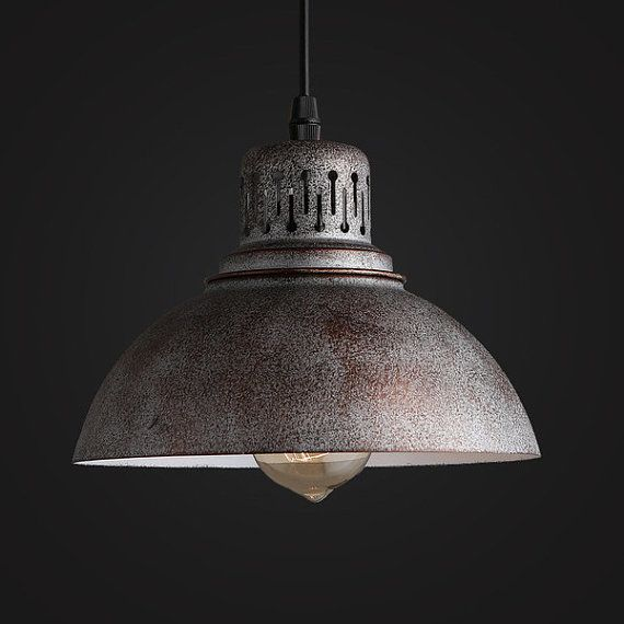 old warehouse pendant lamp industrial