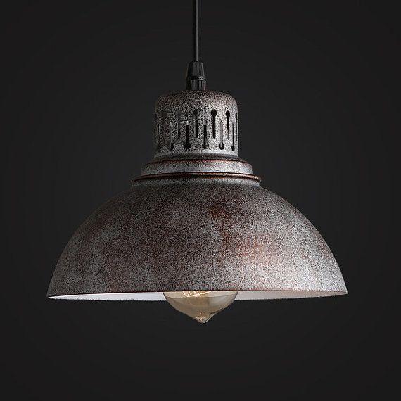 Old Pendant industrial vintage lamp lighting Warehouse drQCotsxhB
