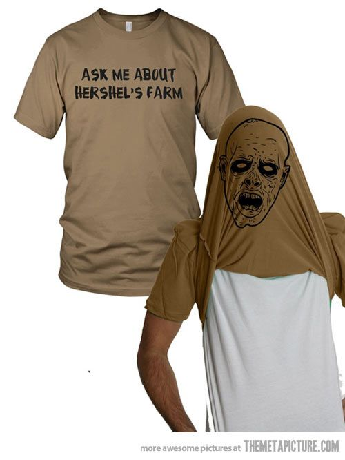 Ask me about my shirt… Want.