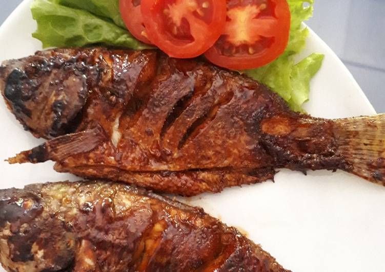 Resep Ikan Bakar Madu Oleh Yuni Resep Resep Ikan Ikan Bakar Resep Ikan Bakar