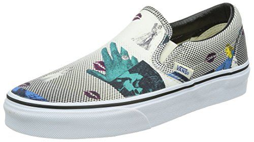 09d69cbf4d0 Vans Unisex Classic SliponTM Van Doren Lips Mens 75 Womens 9 Medium     You  can get more details by clicking on the image.