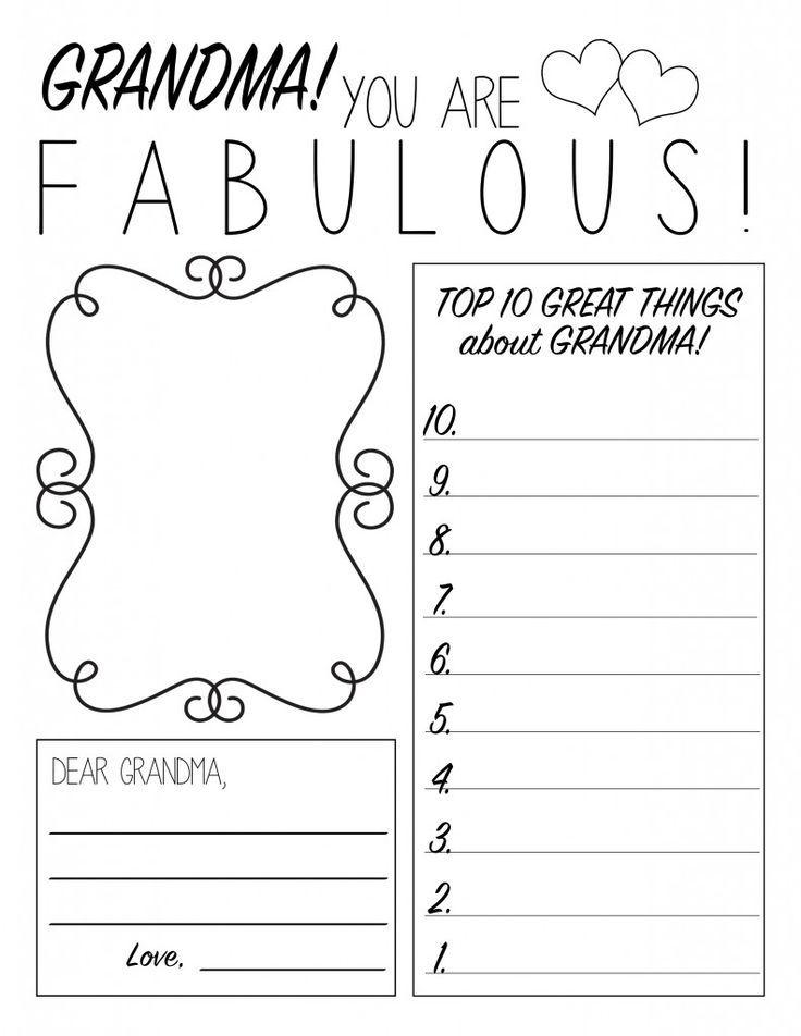 MotherS Day Printable Worksheet  Printable Worksheets