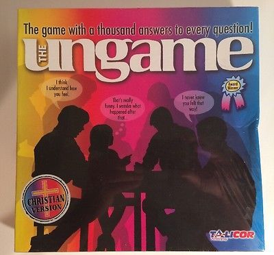 Ungame Board Game Christian Edition (2-6 Players) Manufacturer Discontinued