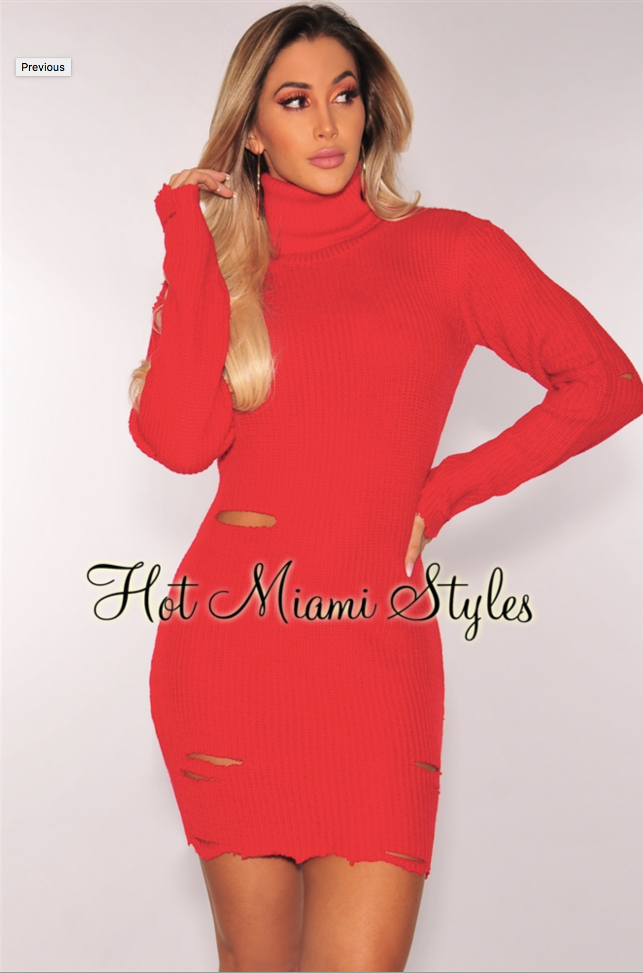 4a379122216 Pin by Stacy💋❤ 💋 Peak on Clothing-Red-Sweaterdresses in 2018 ...