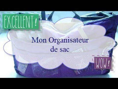 ♥ Mon Organisateur de Sac ♥ - YouTube