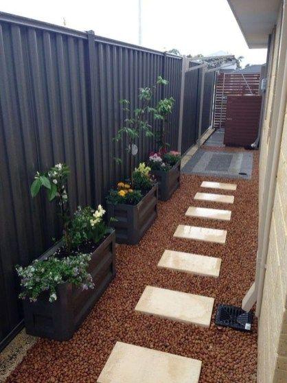 43 Creative Side Yard Garden Design Ideas For Summer #sideyards
