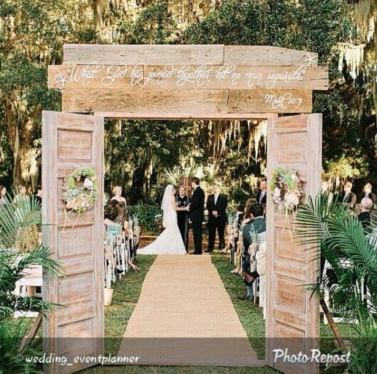 The Most Unique Décor Ideas of the Year. Wedding DoorsDecor ... & The Most Unique Décor Ideas of the Year | Wedding Wedding and ...