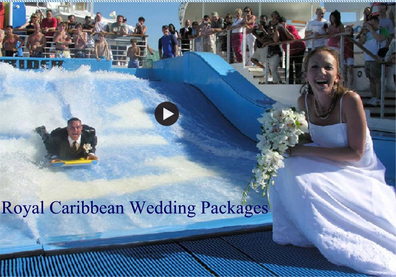 Royal caribbean royal romance wedding packages with prices for Royal caribbean cruise wedding